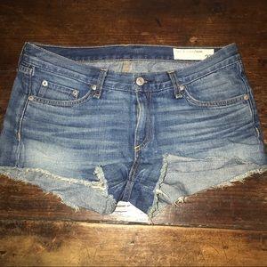 Rag n bone cut off shorts size 27